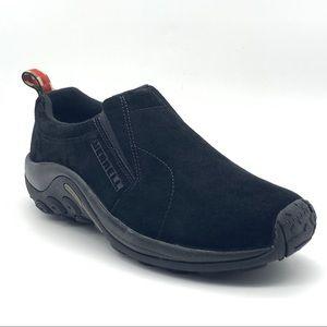 Merrell Women's Jungle Moc Shoes, Midnight, 10 US